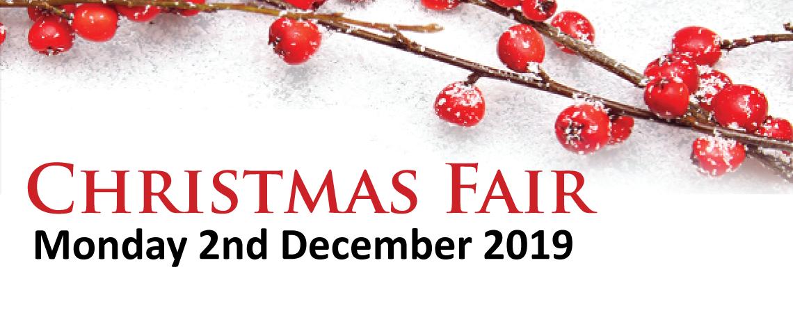 Pelican Cancer Foundation Christmas Fair – Monday 2nd December